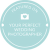 wedding photographer london badge