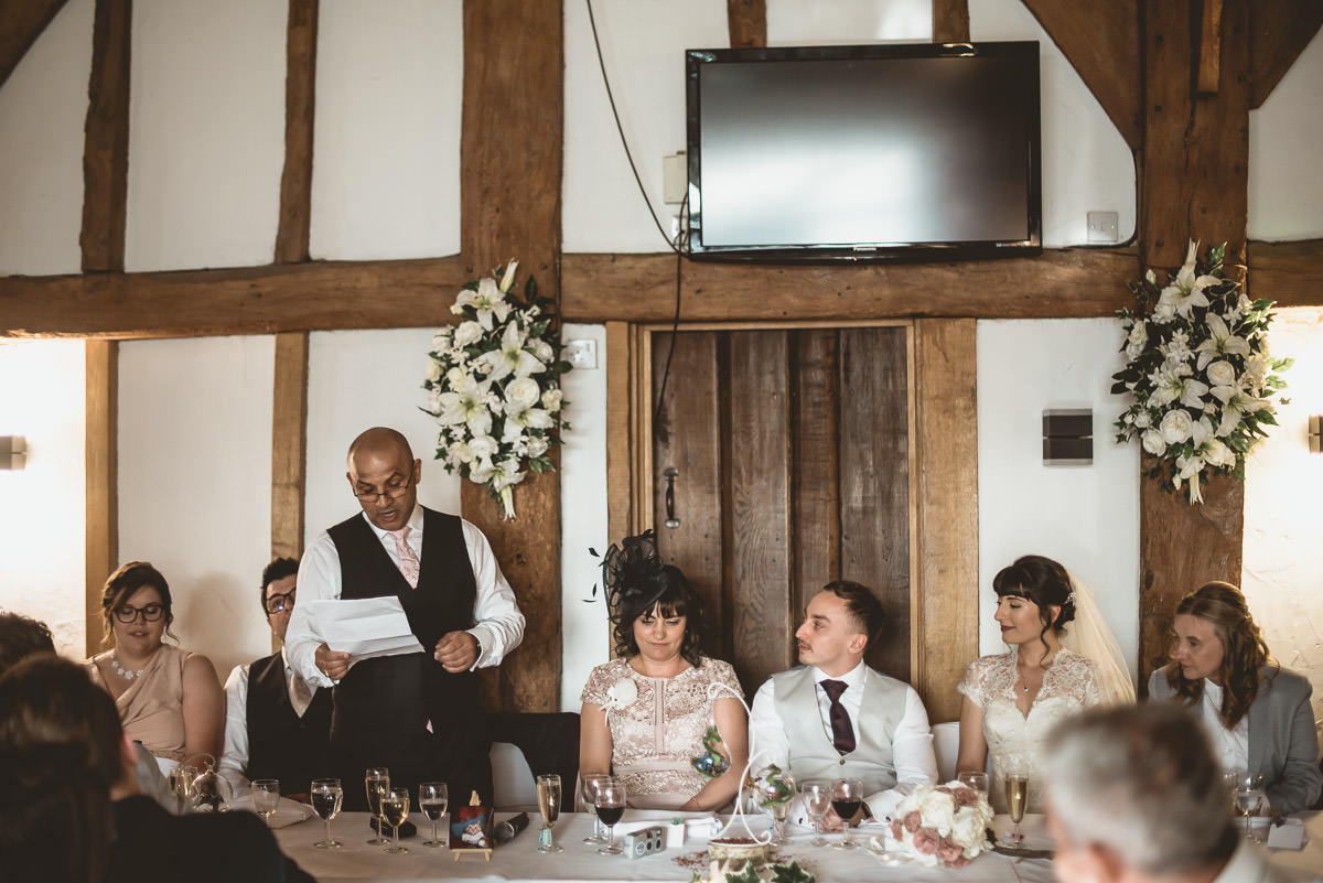 Tudor Barn Burnham Wedding 73