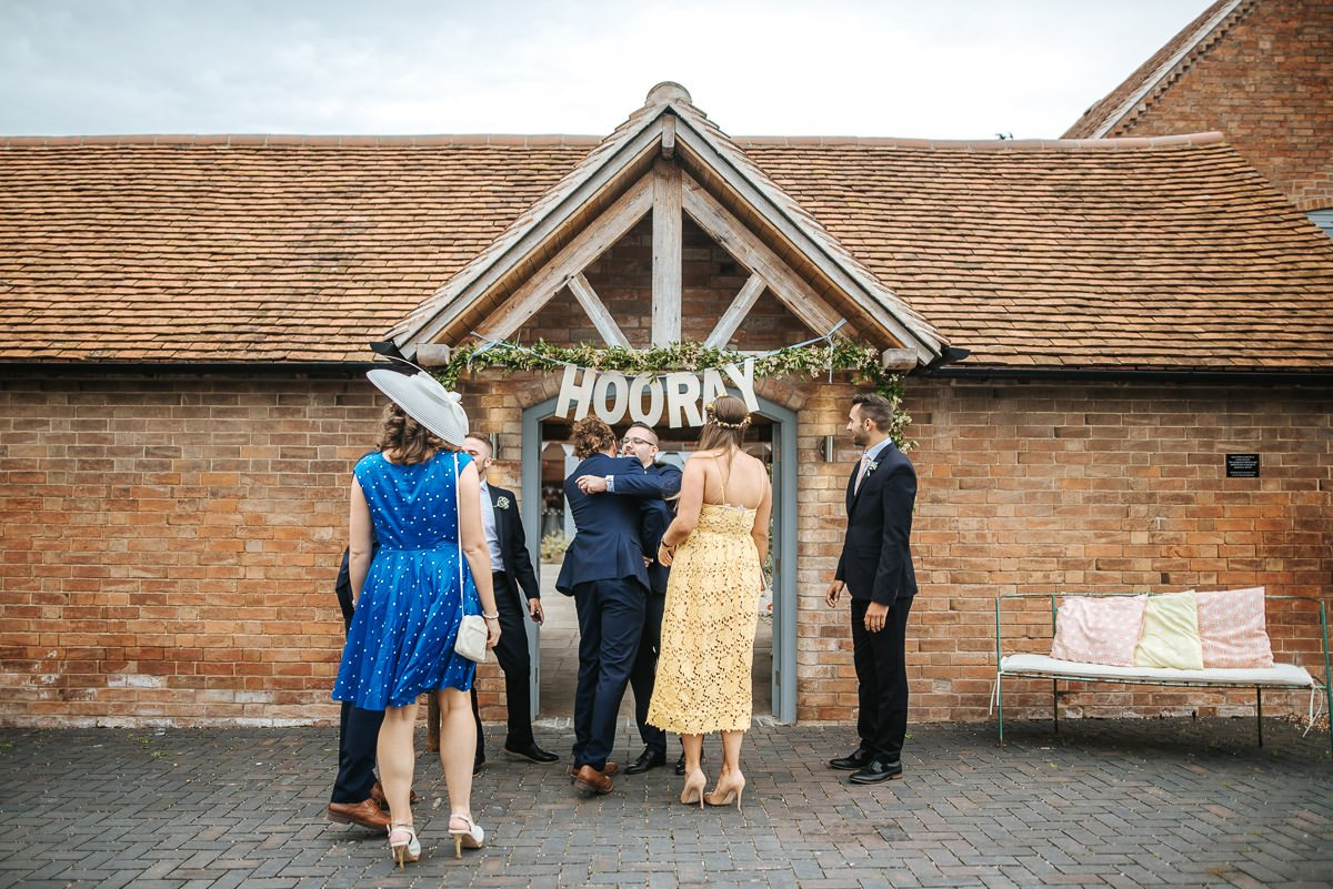 Joanne and Tom at Swallows Nest Barn - Warwickshire Wedding Photographer 13