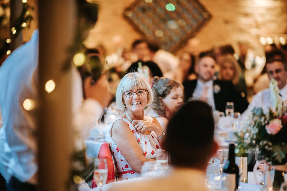 Joanne and Tom at Swallows Nest Barn - Warwickshire Wedding Photographer 92