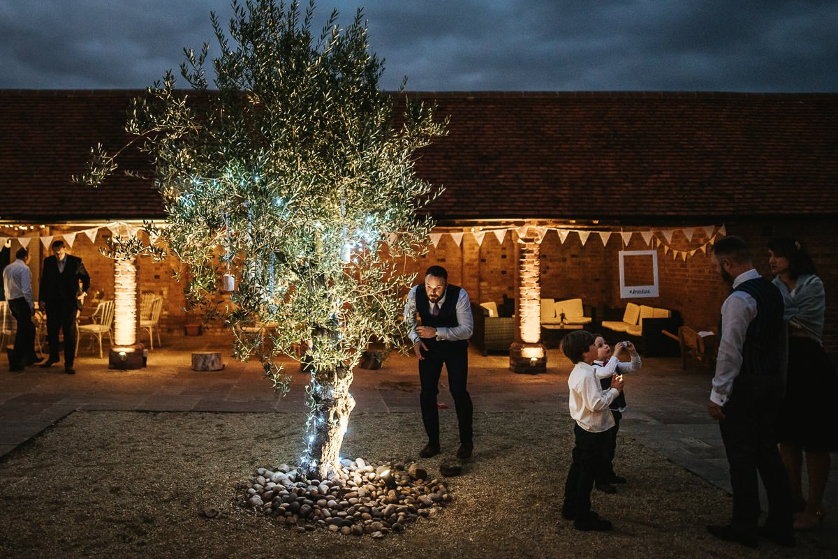 Joanne and Tom at Swallows Nest Barn - Warwickshire Wedding Photographer 98
