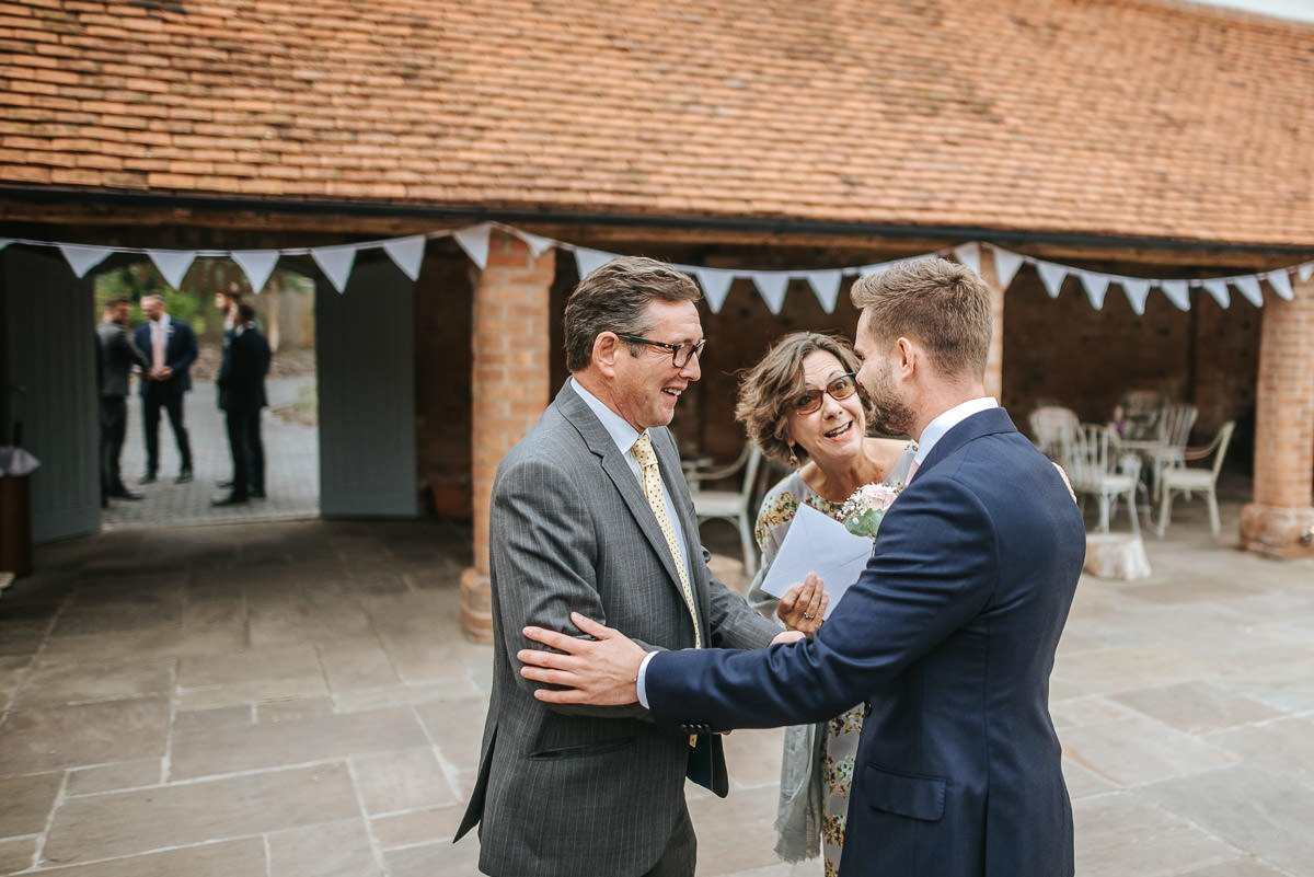 Joanne and Tom at Swallows Nest Barn - Warwickshire Wedding Photographer 14