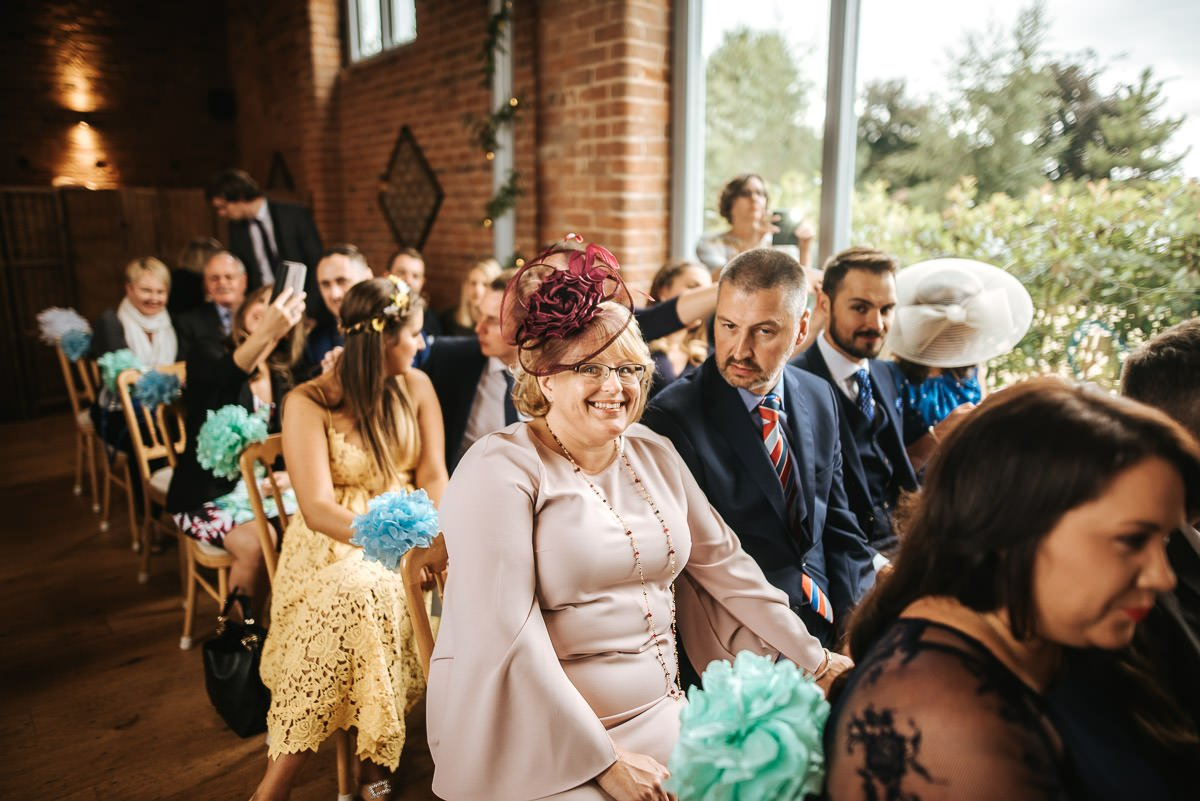 Joanne and Tom at Swallows Nest Barn - Warwickshire Wedding Photographer 23