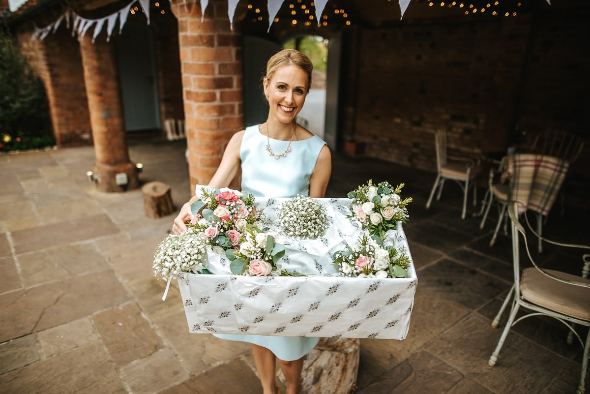 Joanne and Tom at Swallows Nest Barn - Warwickshire Wedding Photographer 26