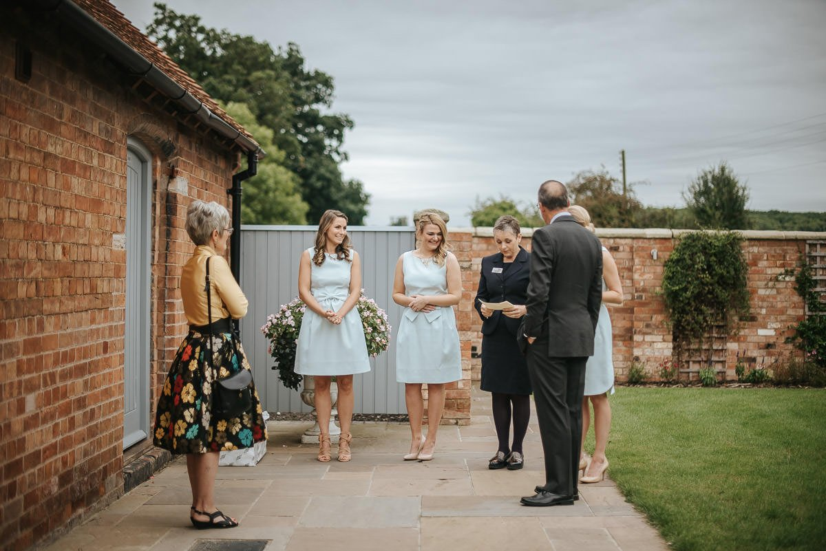 Joanne and Tom at Swallows Nest Barn - Warwickshire Wedding Photographer 28
