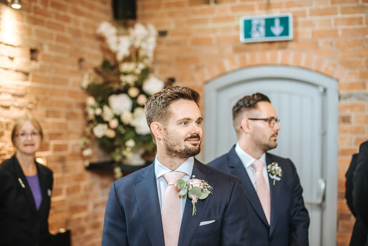 Joanne and Tom at Swallows Nest Barn - Warwickshire Wedding Photographer 33