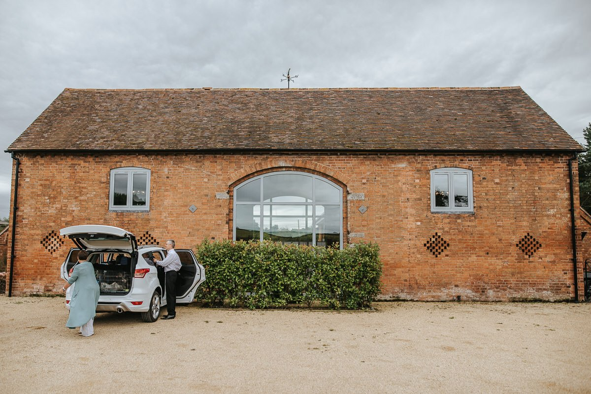 Joanne and Tom at Swallows Nest Barn - Warwickshire Wedding Photographer 5