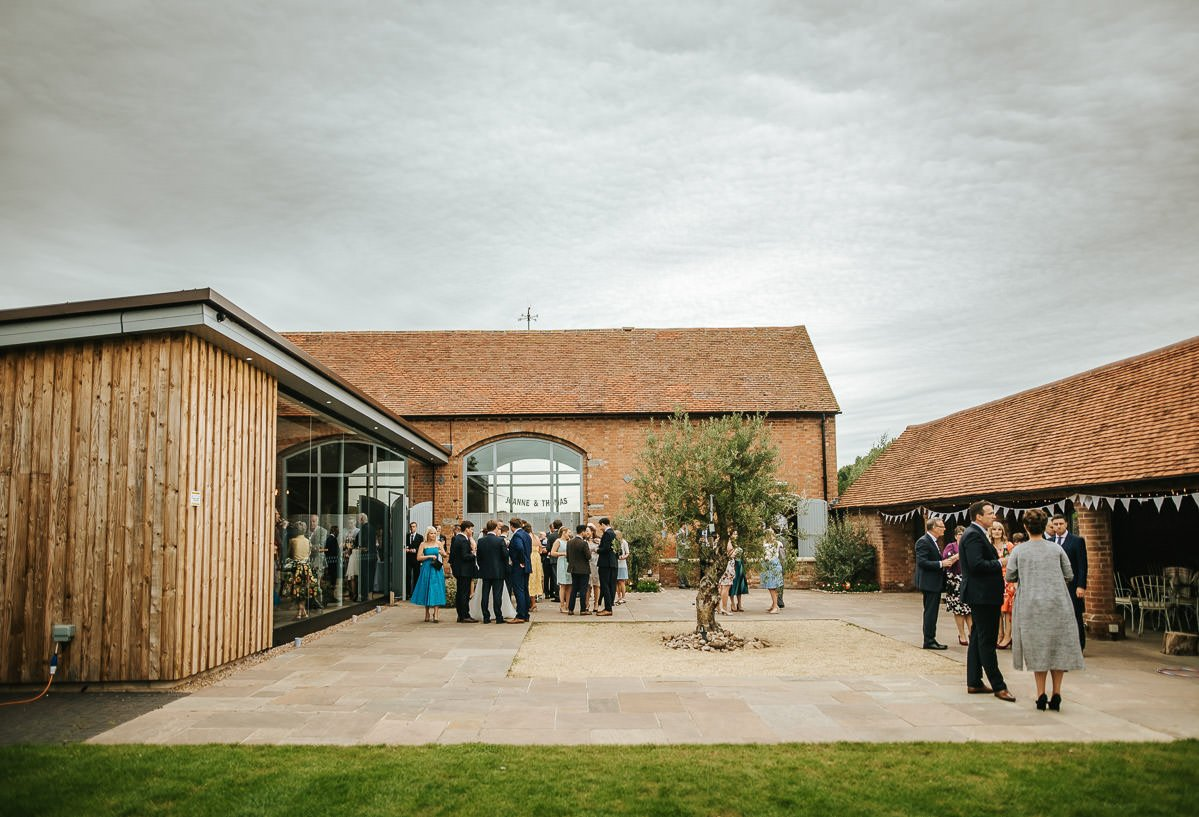Joanne and Tom at Swallows Nest Barn - Warwickshire Wedding Photographer 52