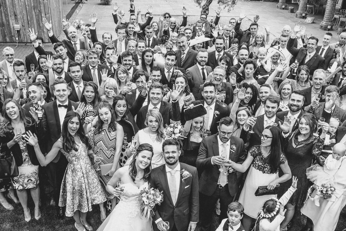 Joanne and Tom at Swallows Nest Barn - Warwickshire Wedding Photographer 53