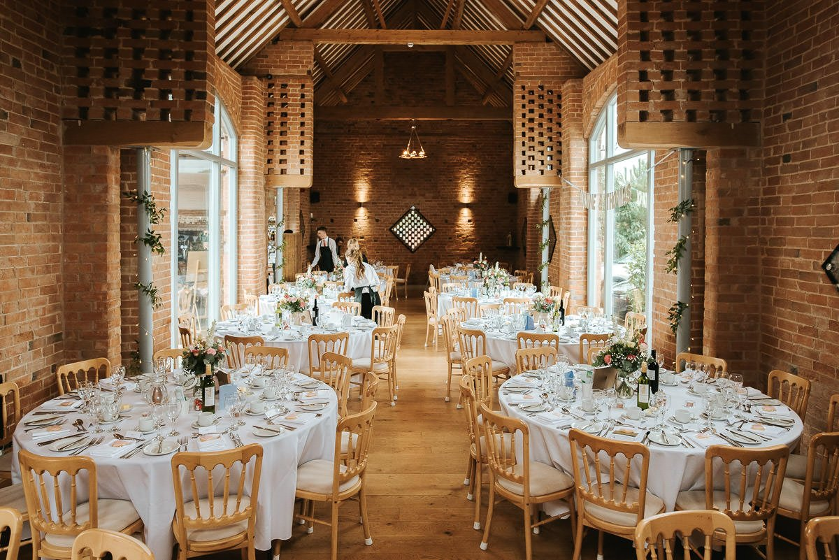 Joanne and Tom at Swallows Nest Barn - Warwickshire Wedding Photographer 65