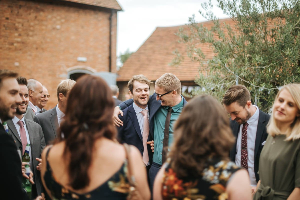 Joanne and Tom at Swallows Nest Barn - Warwickshire Wedding Photographer 63