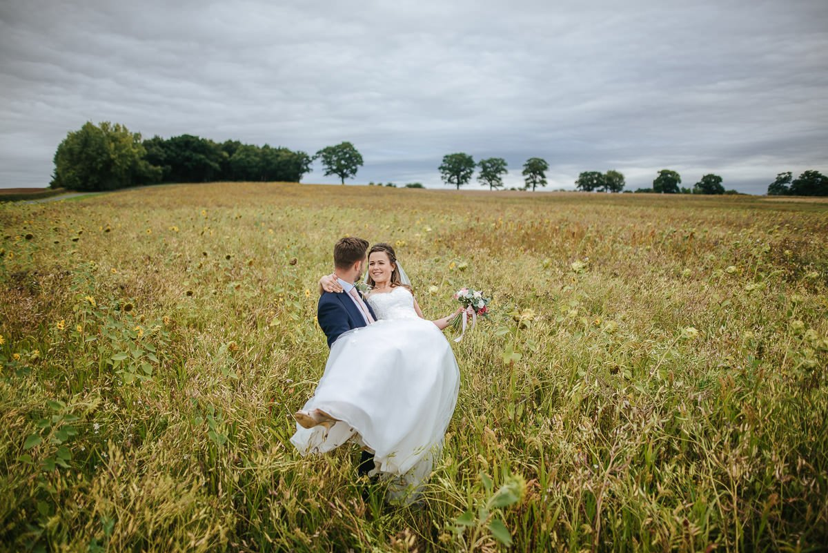 Joanne and Tom at Swallows Nest Barn - Warwickshire Wedding Photographer 75
