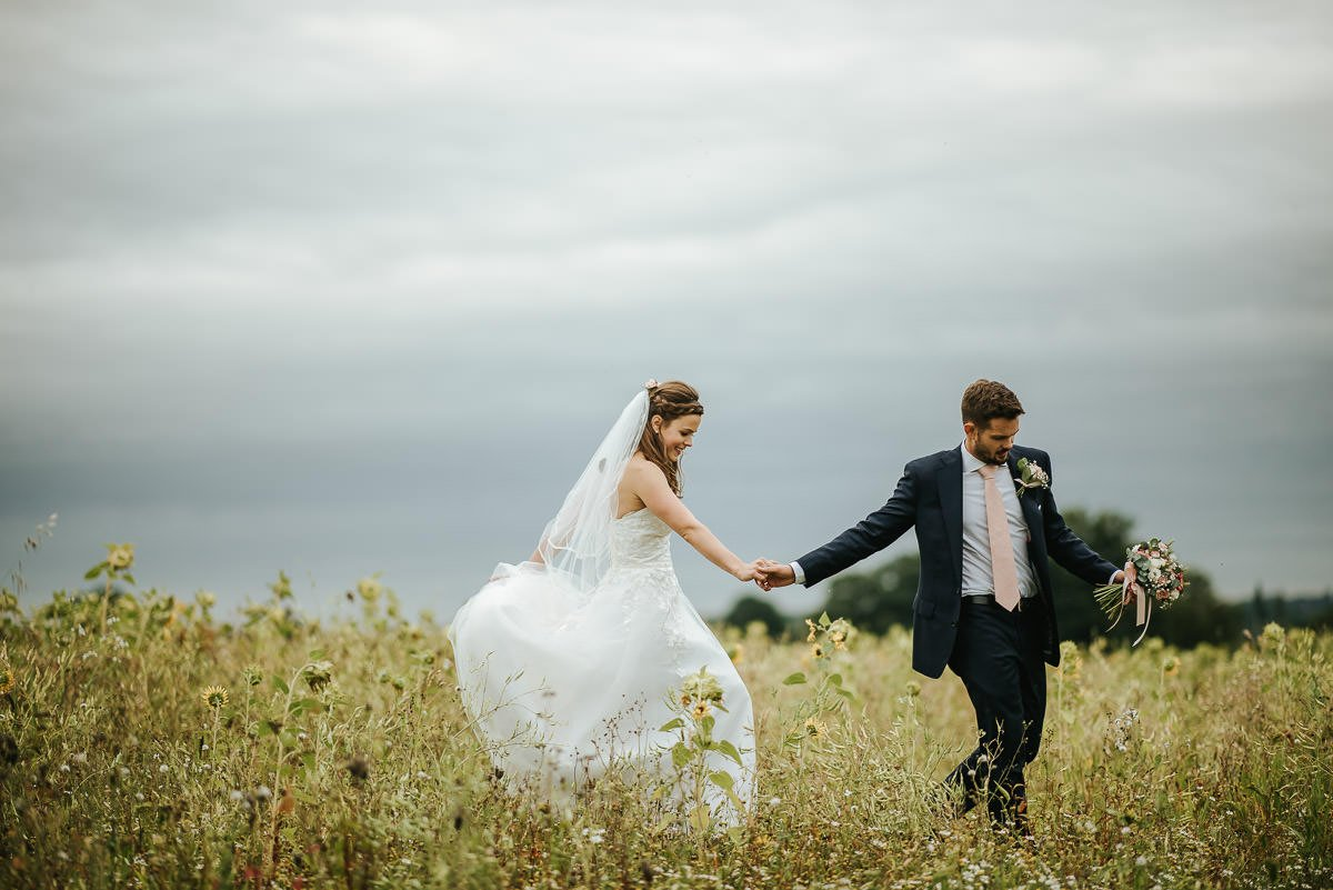 Joanne and Tom at Swallows Nest Barn - Warwickshire Wedding Photographer 77
