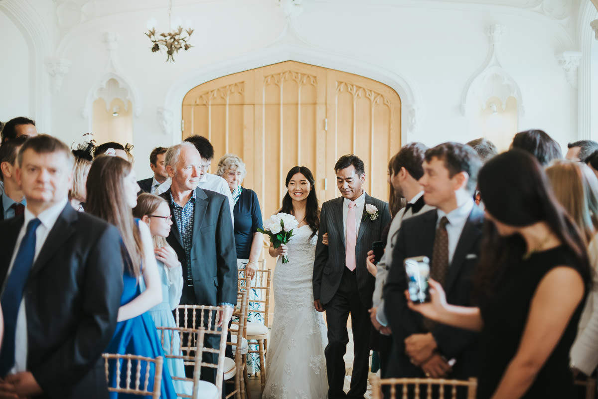 missenden abbey bride and father