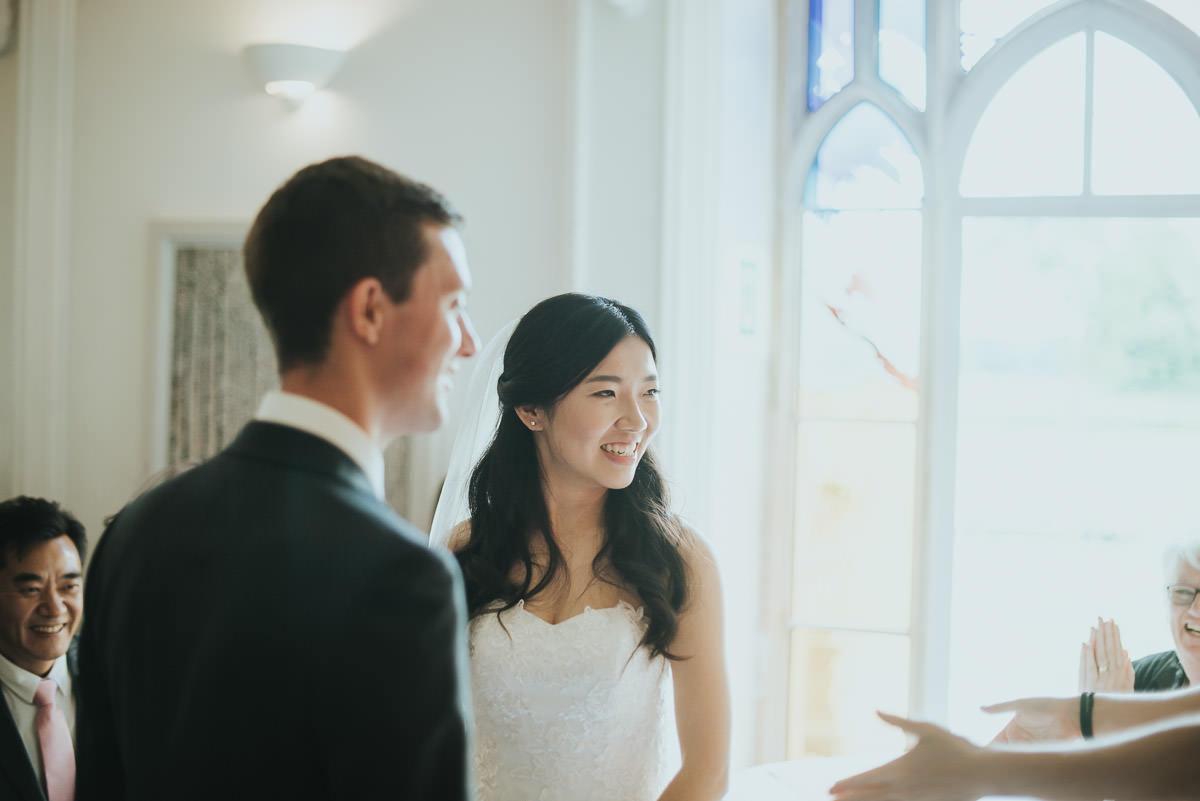missenden abbey newlyweds