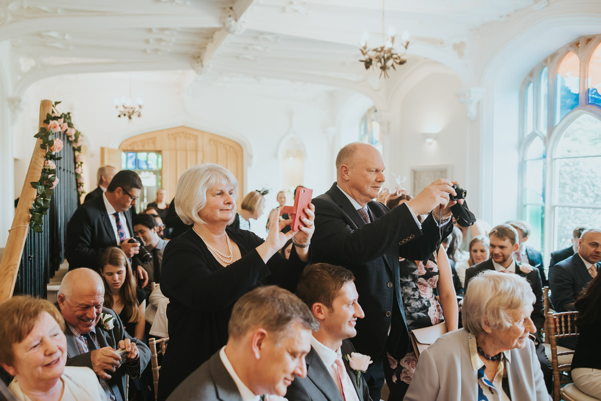 missenden abbey guests taking photos