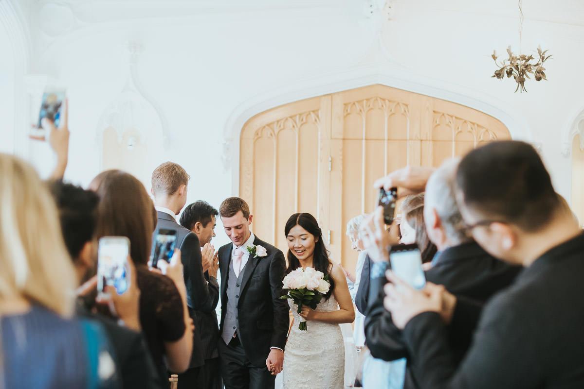 missenden abbey wedding couple