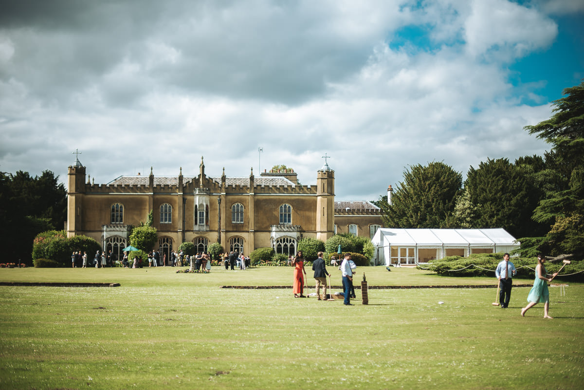 missenden abbey wedding garden games
