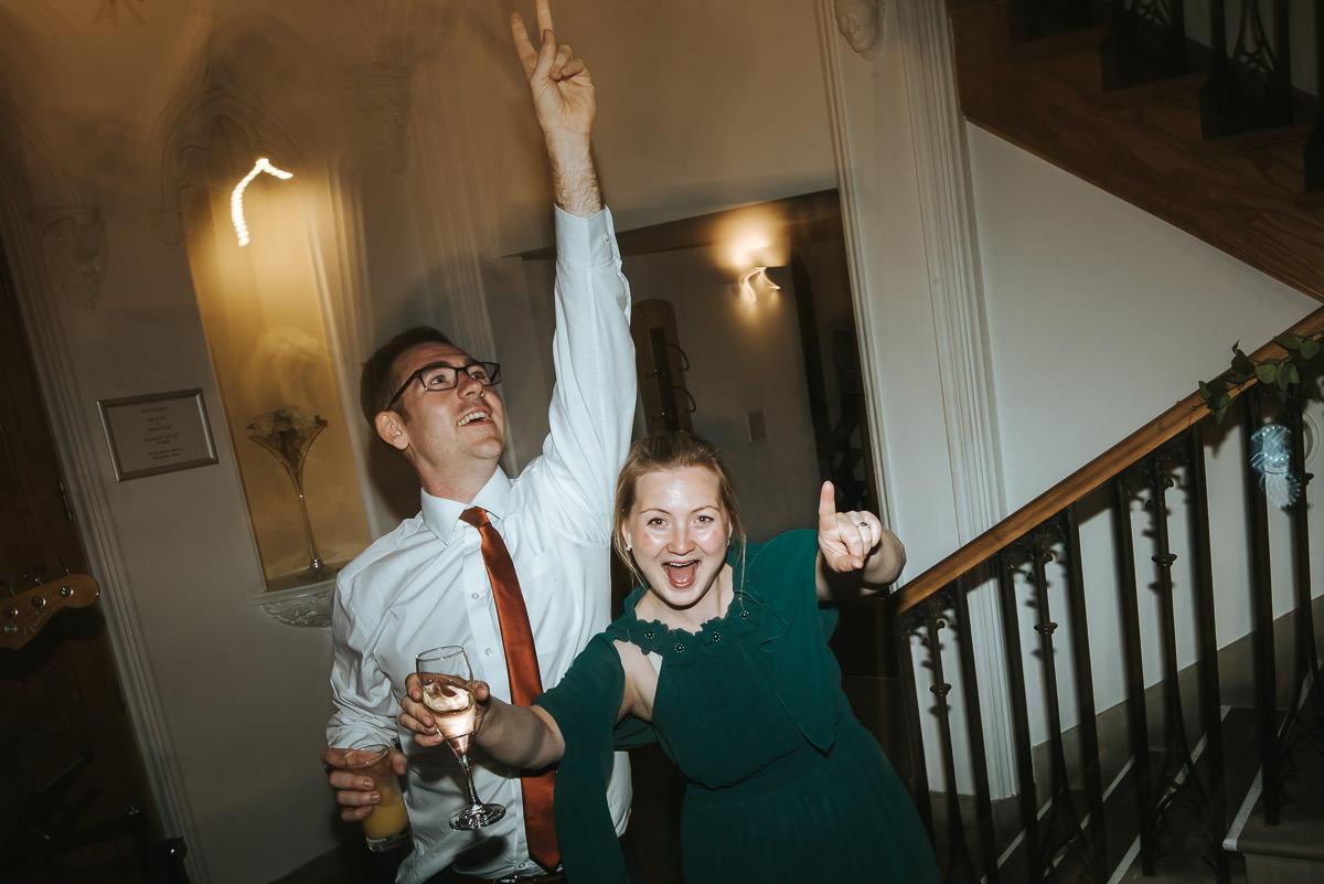 missenden abbey wedding party