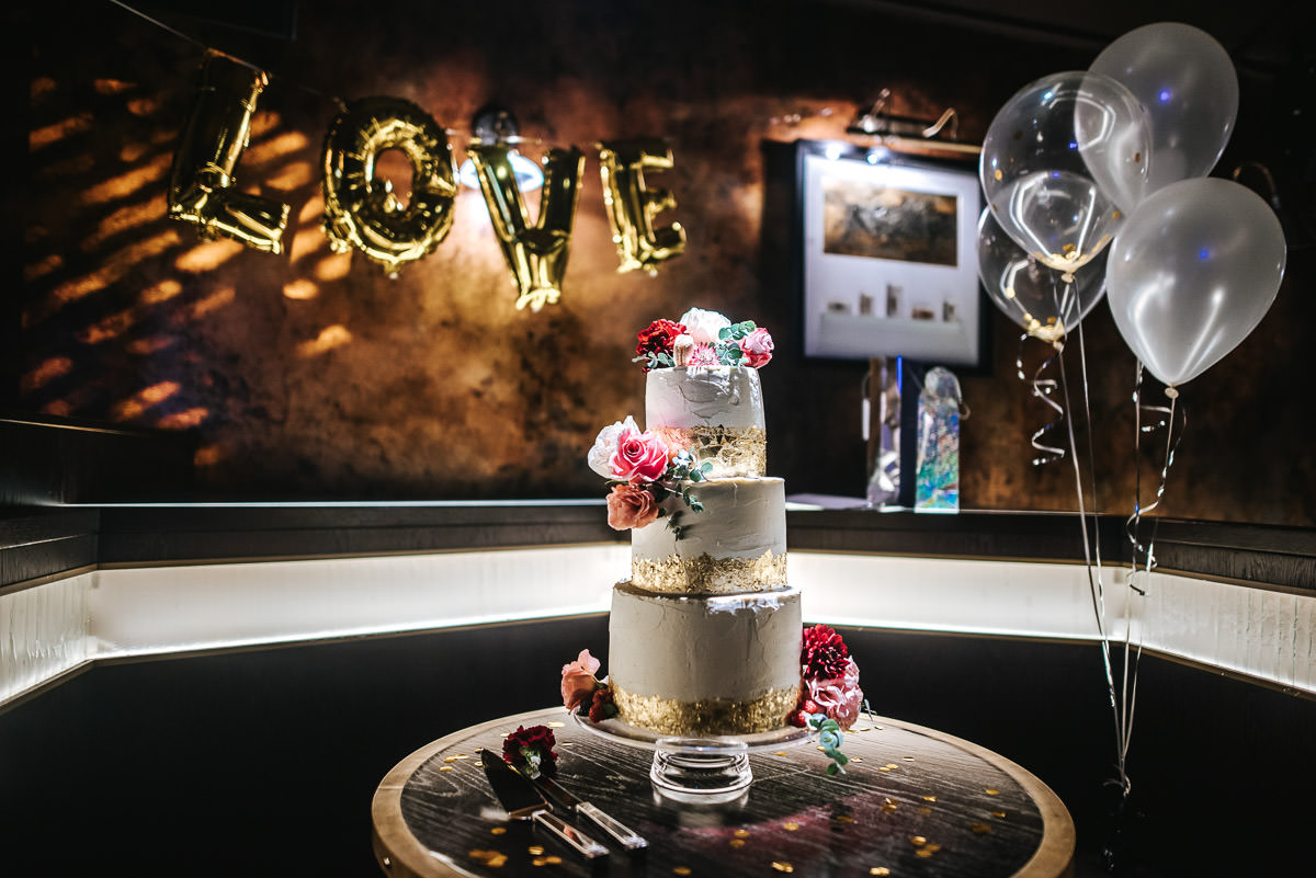 city london wedding at the botanist