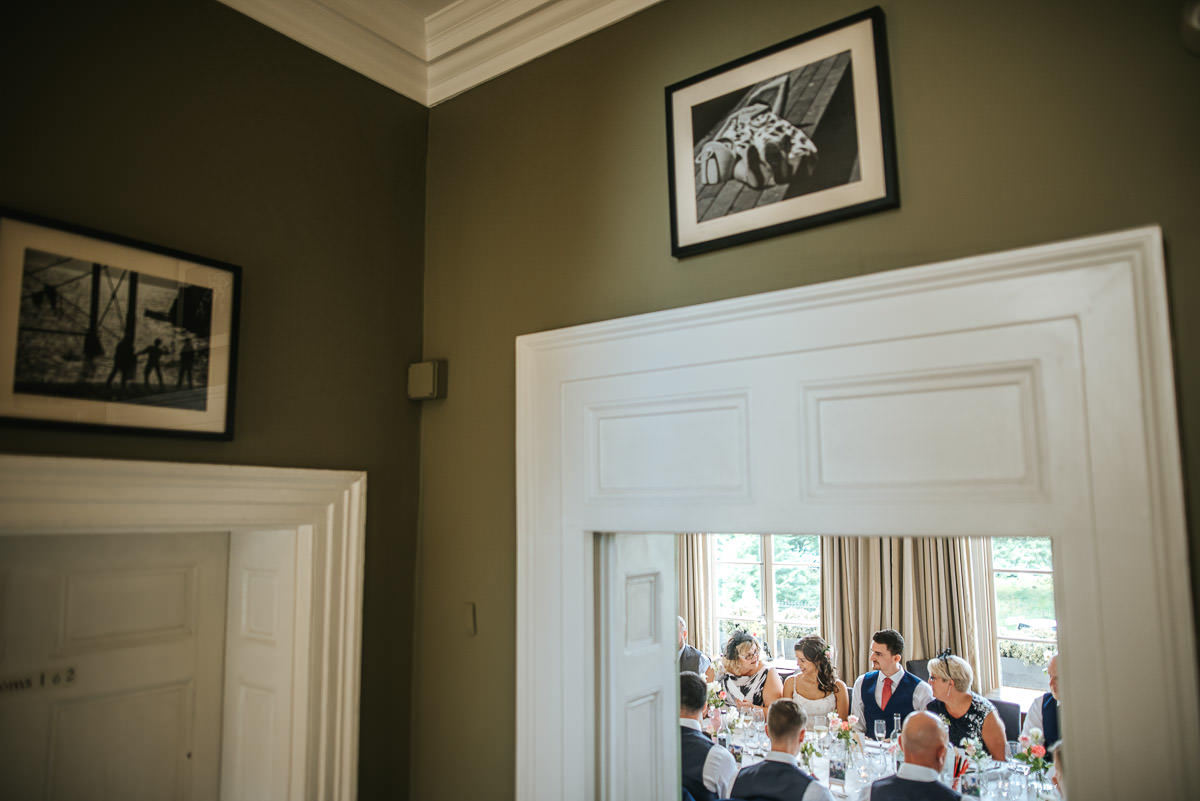 regents park york and albany london wedding breakfast