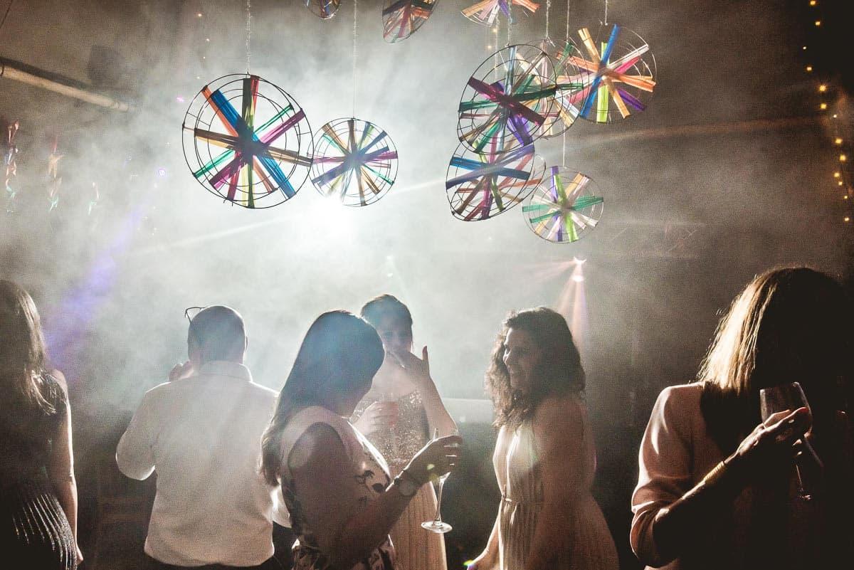 wedding geats partying