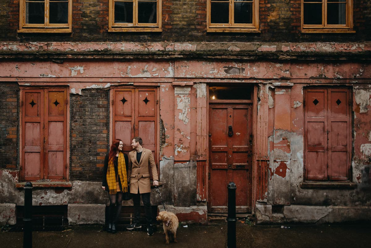 couple shoot london