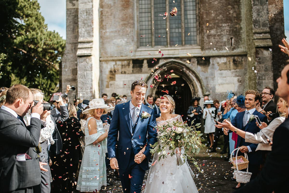 london wedding confetti