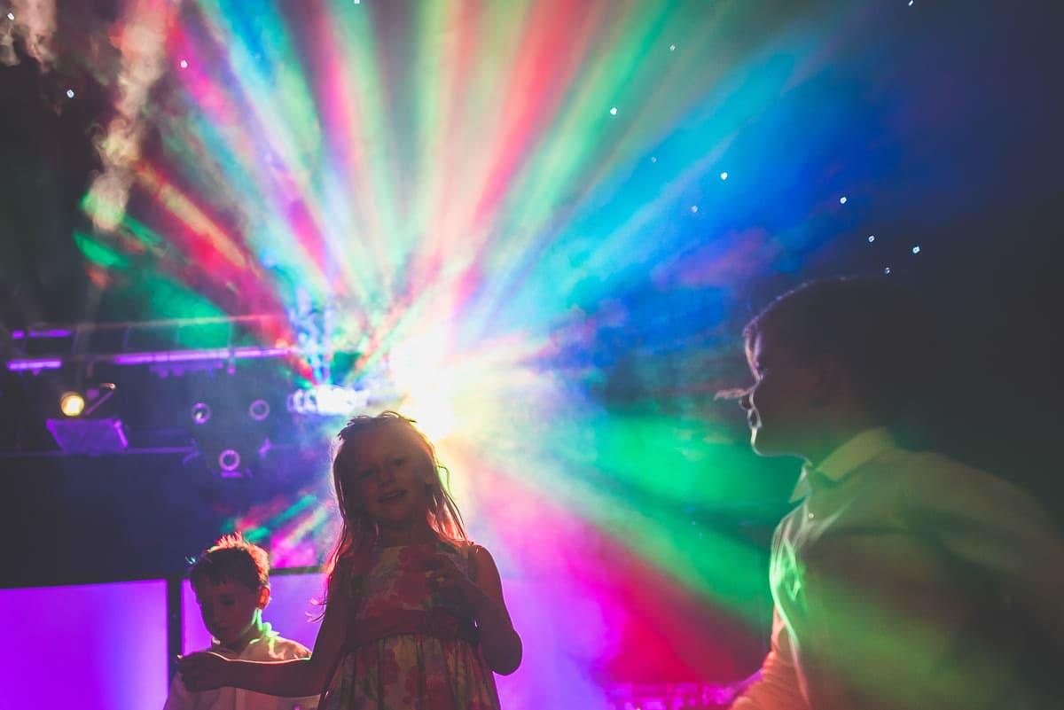 wedding party lights