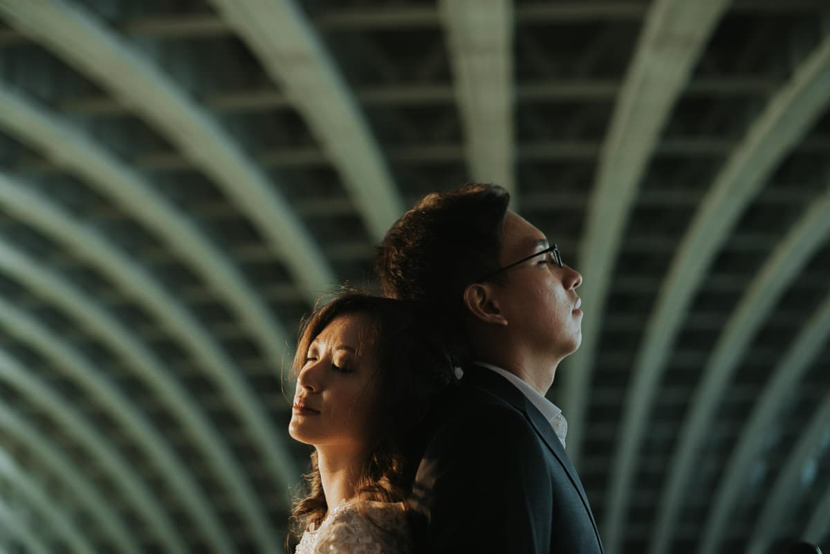 london asian couple shoot
