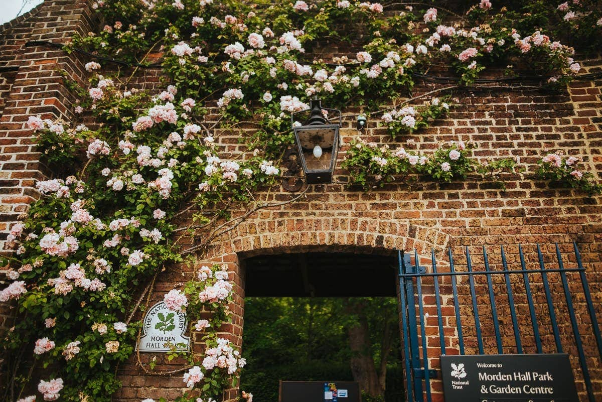 morden hall park entrance