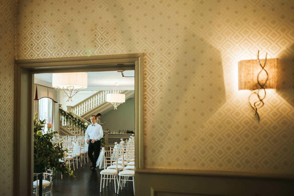 morden hall wedding interior