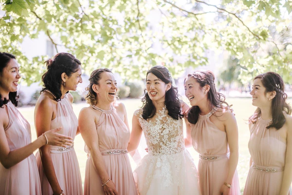 morden hall bridesmaids