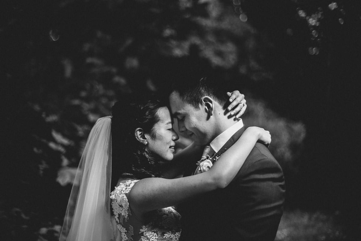 morden hall wedding couple shoot