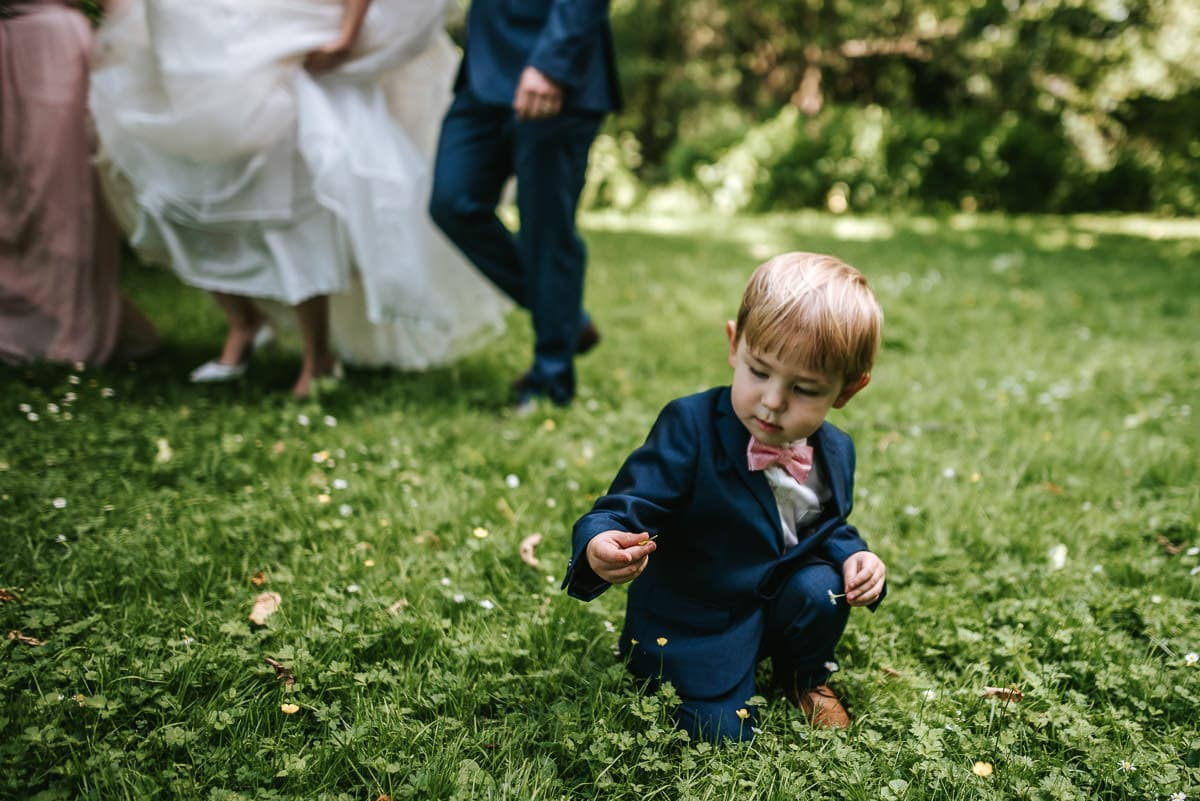 morden hall wedding page boy