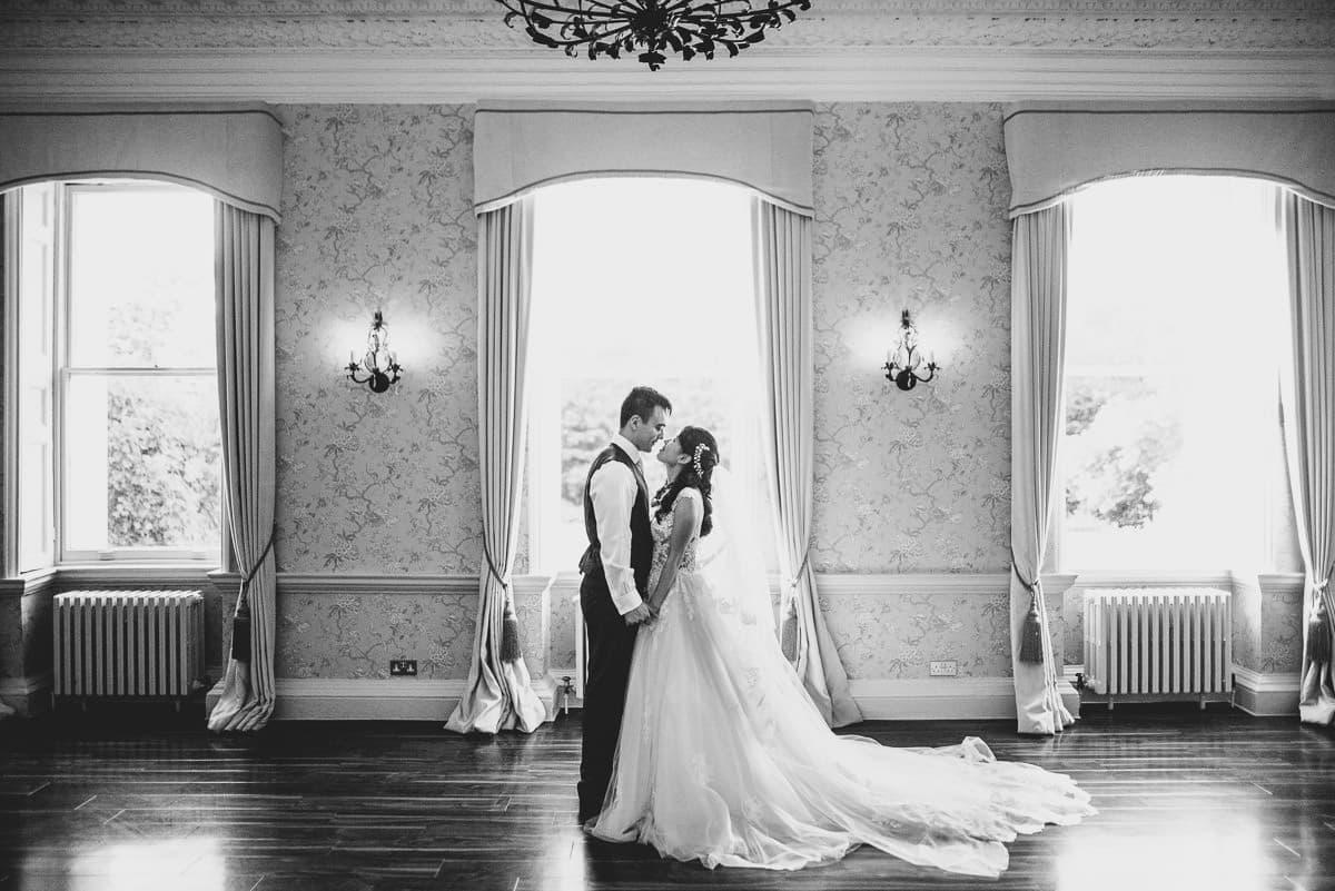 morden hall wedding couple