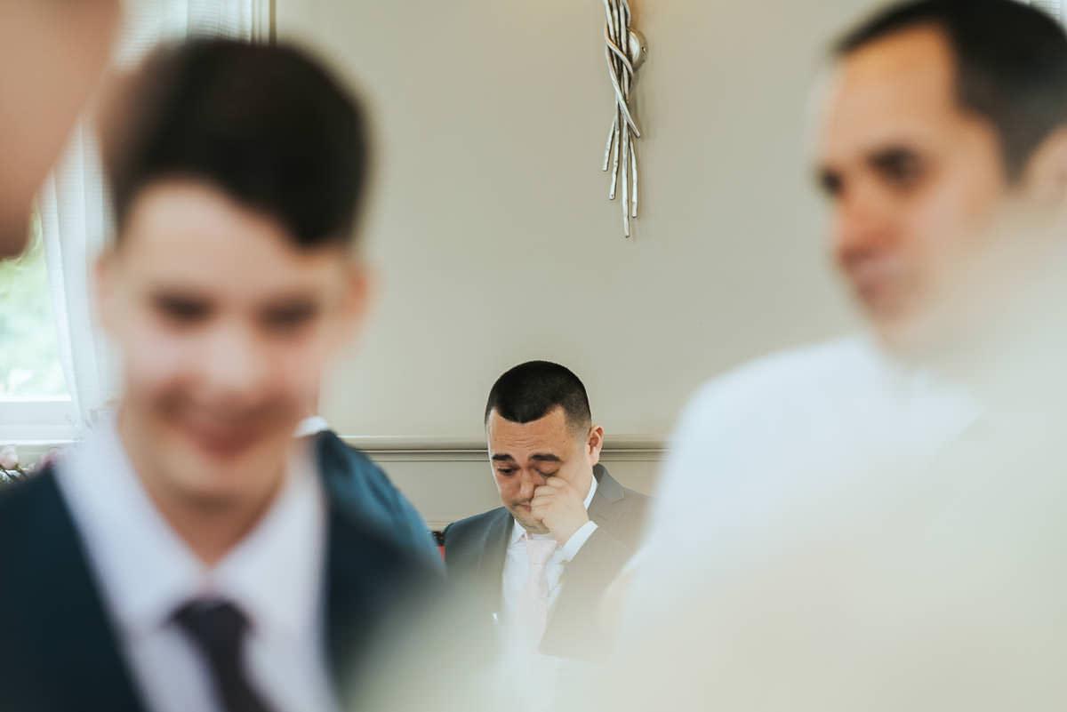 morden hall wedding speeches tears