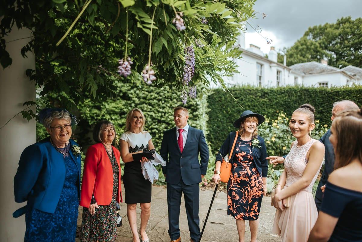 richmond park wedding guests