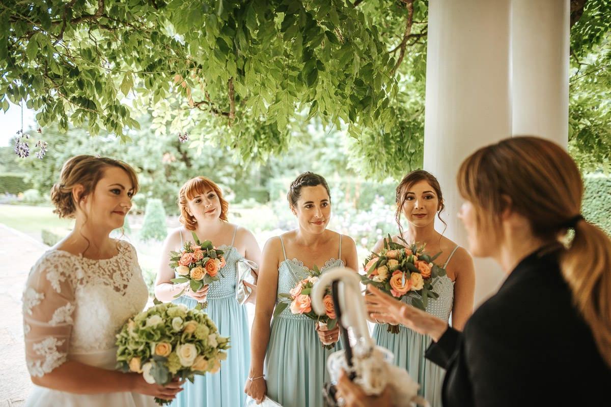 west london wedding bridesmaids