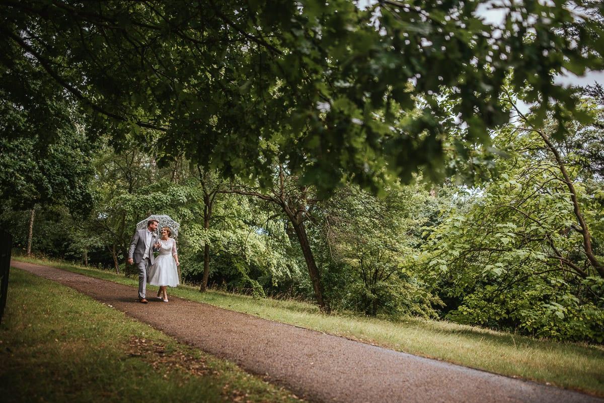 pembroke lodge wedding stroll