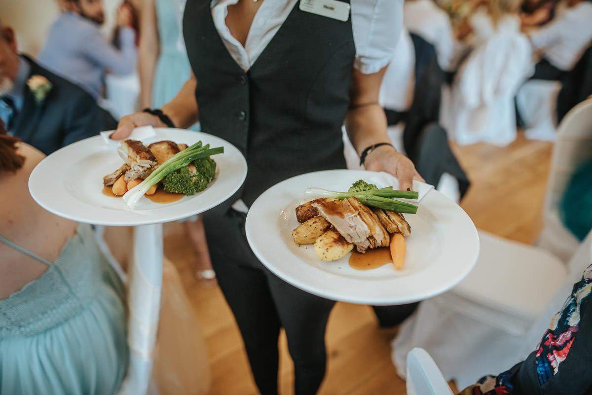 pembroke lodge wedding food