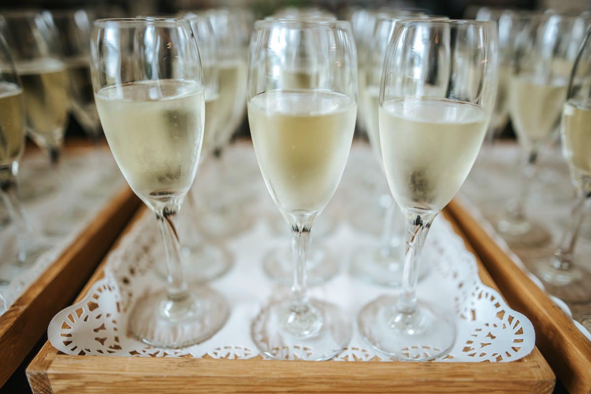 pembroke lodge wedding champagne