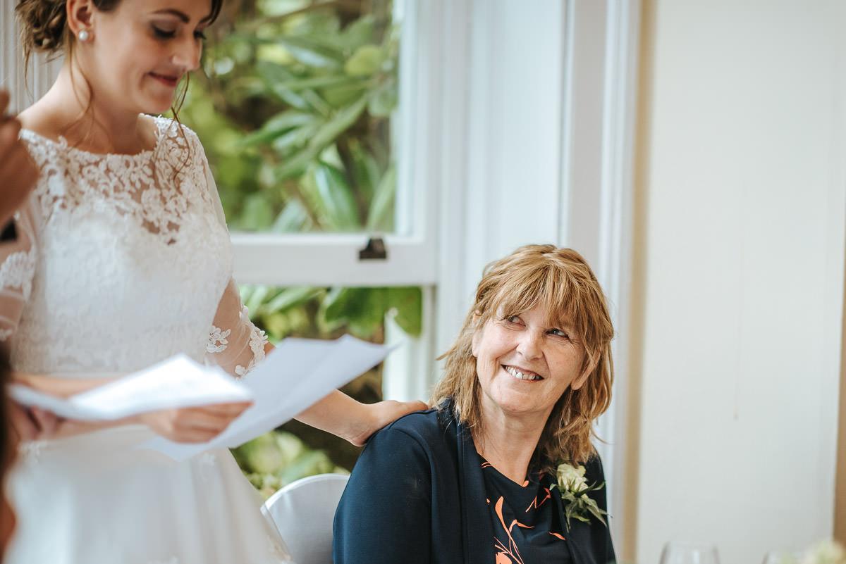 pembroke lodge wedding mums reaction