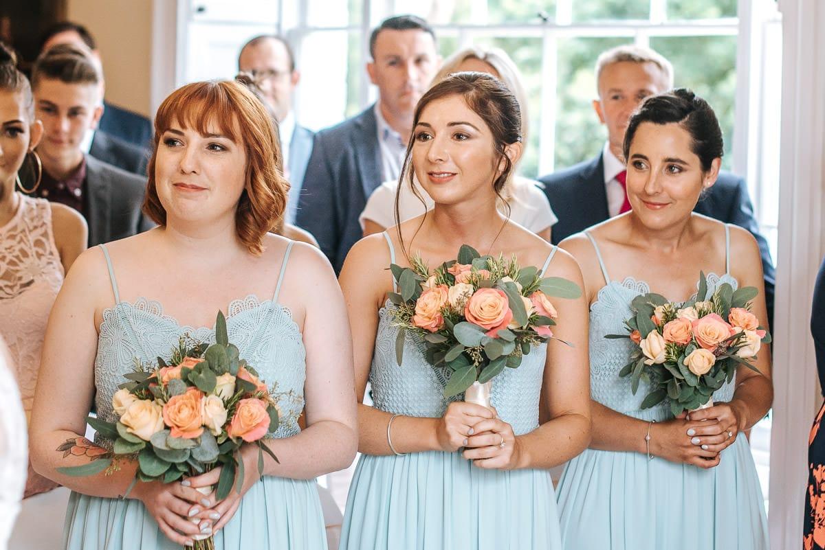 pembroke lodge wedding bridesmaids