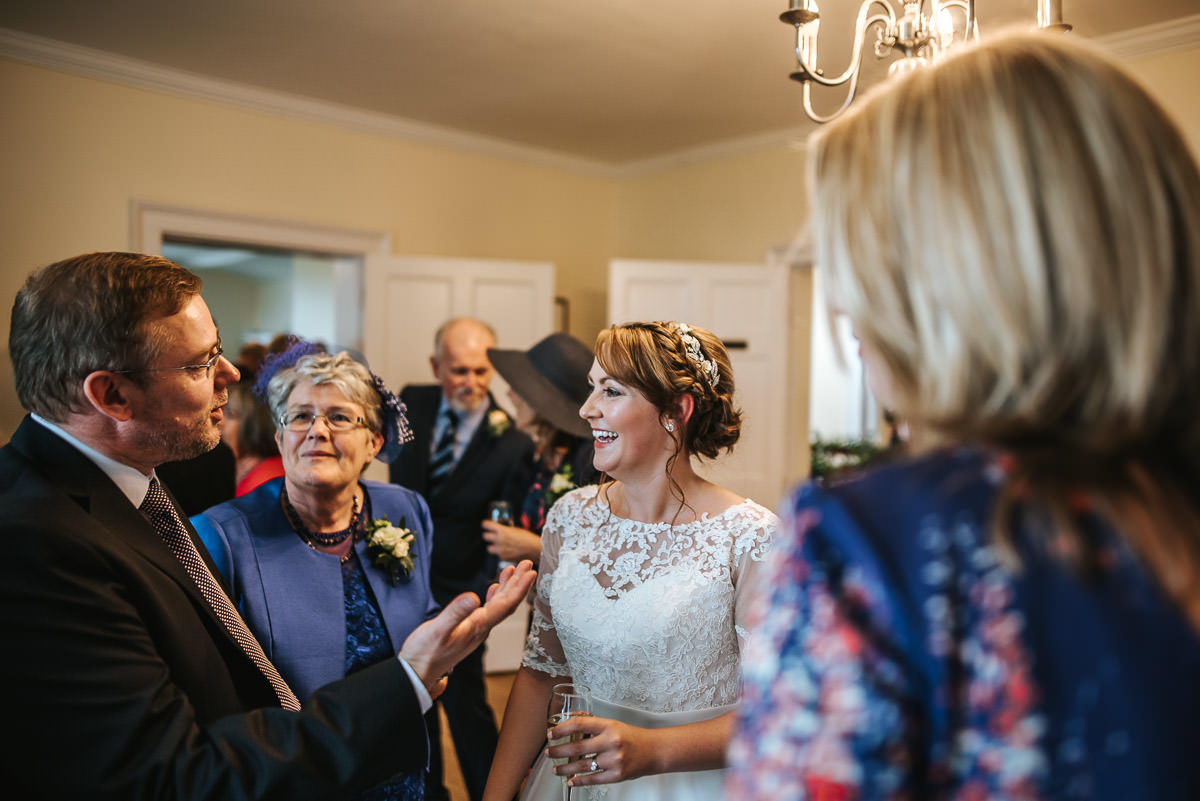 pembroke lodge wedding bride