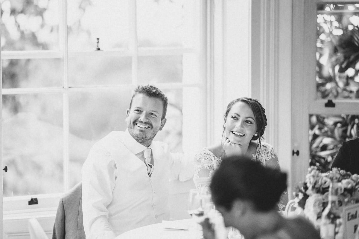pembroke lodge wedding bride and groom