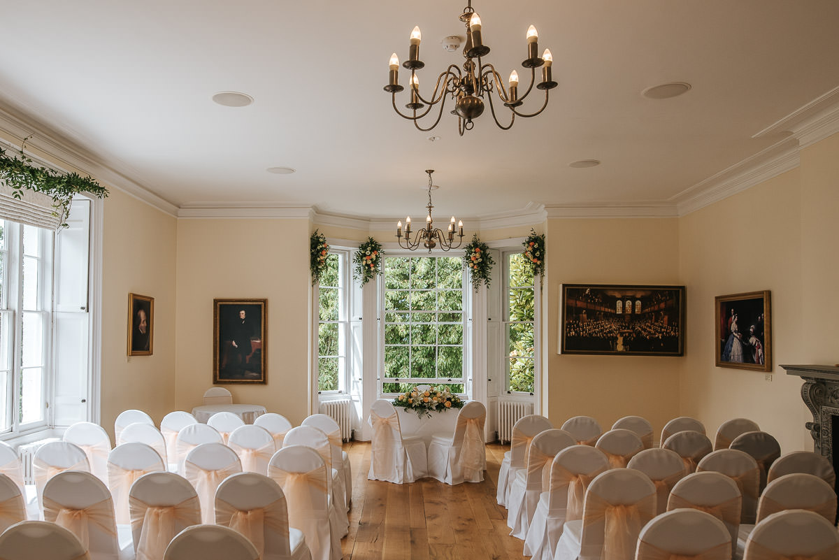 pembroke lodge wedding ceremony room