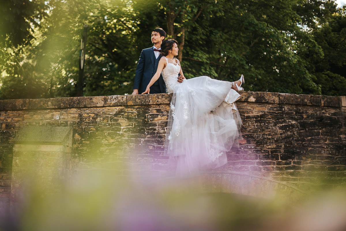 castle combe pre wedding shoot