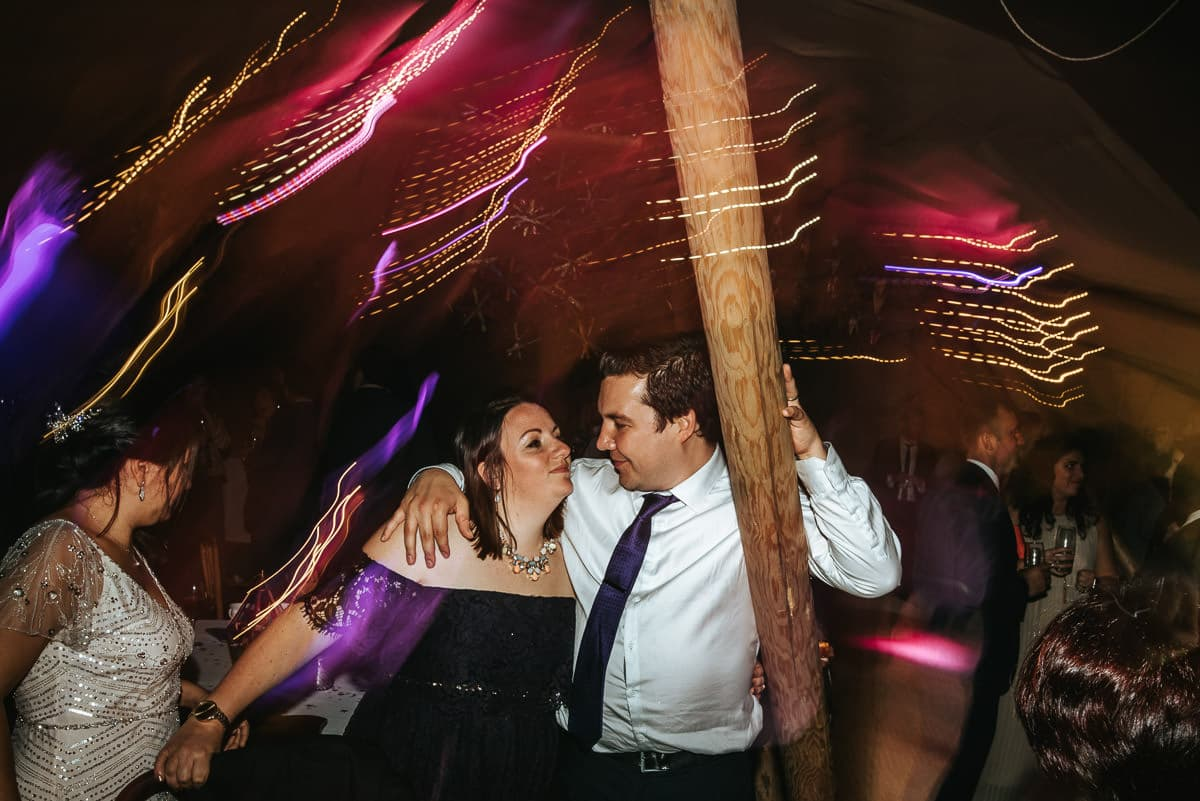 tipi wedding berkshire dancefloor moves
