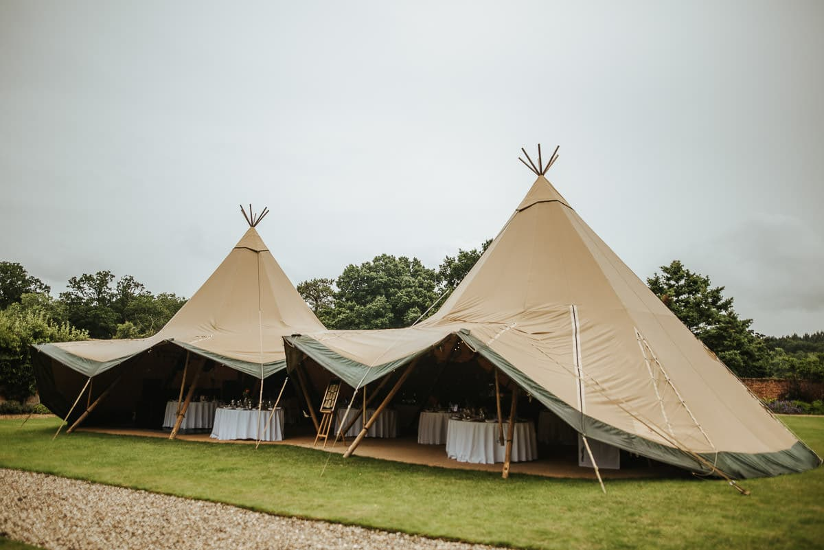 tipi wedding berkshire